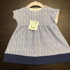 Brand new zara dress size 6-9 months